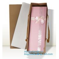 China Wholesale Durable Colorful Custom Printed Cake Packaging Gift Paper Bag With Flower, Tote Carrier Gift Bags bagease pac wholesale