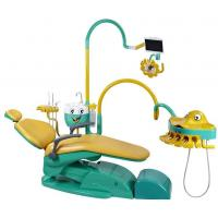 China Special Dental Chair Unit For Children With Lovely Fish Connected Or Movable Instrument Tray wholesale