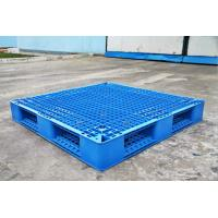 China Rackable Plastic Shipping Pallets For Storage / Distribution , Blue Plastic Pallet Recycling wholesale