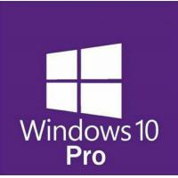 China instant delivery Microsoft Windows 10 Pro Professional 32/ 64bit License Key Product Code win 10 pro retail key wholesale