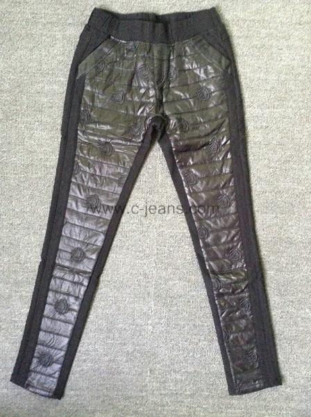 Quality 2014 Women's Fashion Pants Sexy Fashion PU Leather Pants Women Trousers for sale