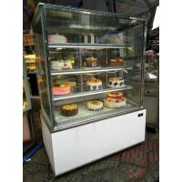 China Cheap tall three sides glass vertical cake display cooler showcase refrigerated display cabinet on sale