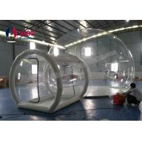 China Tunnel Movement Hotel House Clear Bubble Tent / Inflatable Lawn Tent wholesale