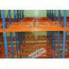 China Push back pallet rack - push back racking system - selective and high density push back racks wholesale