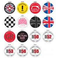 China 3D Embroidered Metal Pin Badge wholesale