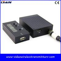 China 2.4Ghz Mini Wireless Video Transmission , Reporter Of Investigations COFDM Video Transmitter wholesale
