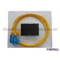 China divisor do PLC da caixa do ABS 1x16, divisor de fibra ótica de FTTH com o conector da fibra ótica do SC wholesale