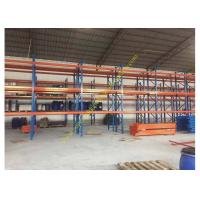 China Corrosion protection Warehouse Storage Racks , Commercial Steel Selective Pallet Rack wholesale