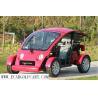 China Mini carrinho de golfe pequeno dois Seater, carrinho de golfe da roda de Safty 4 com pneu do vácuo wholesale