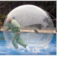 China TPU / PVC Walking Human Hamster Ball Inflatable Running Water Bubble Roller wholesale