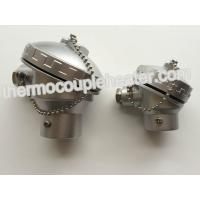 China Alloy Aluminum Thermocouple Connection Head With Ceramic Terminal Block on sale