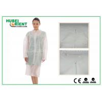China Hospital Surgical Lab Coats / White Lab Coat For Women , MP Tyvek Materials on sale