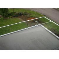 China Stainless steel railing accessories with tempered glass balustrade on sale