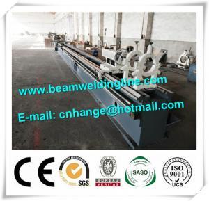 China High Speed Pipe CNC Plasma Cutting Machine For Tube , Cnc Horizontal Lathe Machine wholesale