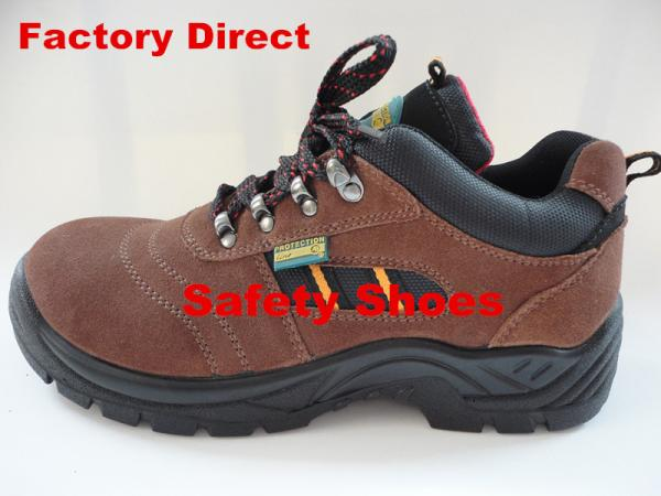 Quality Suede Safety Shoes with high quality for sale