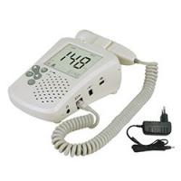China Display With Backlight LCD Fetal Heart Rate Doppler With Earphone And Speaker wholesale