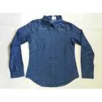 Cheap cowboy wear,cowboy's clothes,denim male's shirts,blue jeans Series blouse stock lots