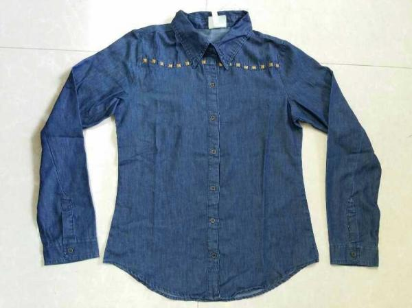 Quality Cheap cowboy wear,cowboy's clothes,denim male's shirts,blue jeans Series blouse stock lots for sale