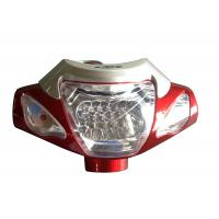 China Electric Bicycle Parts Plastic Brightest  Bicycle Front Light With LED Lamp wholesale