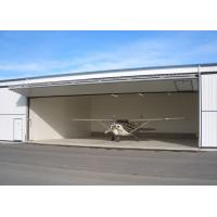 China Large Pre Manufactured Steel Structure Hangar Aircraft Hangar Buildings wholesale
