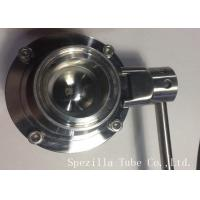 China AISI304 Stainless Steel Sanitary Valves ASTM A270 Surface Polished wholesale