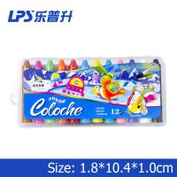 China Chirldren Highlight Water Soluble Wax Crayons 12 Colors EN71 PART3 wholesale