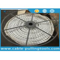 China High Strength Fiber Optic Cable Tools Polyester PP Double Braided Rope For Pulling OPGW on sale