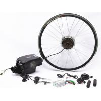 "China 20"" 26"" 700C Wheel Electric Bike Hub Motor Conversion Kit With Batteries wholesale"