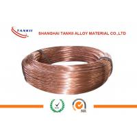 China Beryllium Copper Nickel Alloy Wire 0.08 - 4.0mm Diameter For Extension Spring wholesale