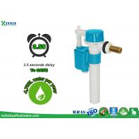 China Side float valve with delay fill option , help to stablize flush volume wholesale