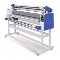China 1600 Wide And Large Format Roll Cold Laminator Machine With Free Air Compressor on sale