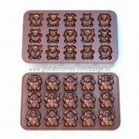 China Chocolate Mold Set, Made of 100% Food Grade Silicone, Customized Designs are Welcome wholesale