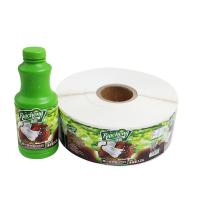 China Canned Food Labels Food Jar Seal Sticker Adhesive Paper Material For Decoration wholesale