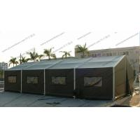 Buy cheap 6x12M Green Military High Peak Tent For Outdoor Army Use , Pvc Canvas Tent from wholesalers