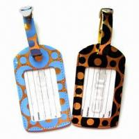 China Plastic Luggage Tags with Personal Decorations and Nominal Quotation wholesale