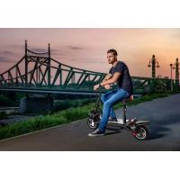 China Shock Absorption Water Proof  Foldable Electric Scooter With USB Phone Charger BMS System 38km/H wholesale