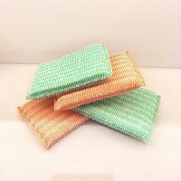 China Long Lifetime Non Scratch Scouring Pad No Peculiar Smell Harmless To Skin wholesale