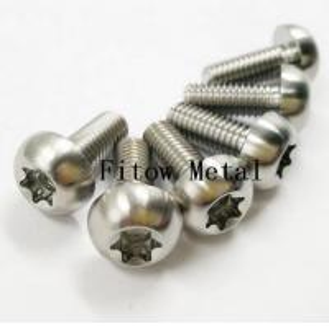 China GR5 6Al4V Titanium Ti mm Screws Torx T25 Head Titanium Disc Brake Rotor Bolts titanium torx screw bolt wholesale