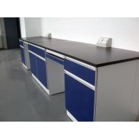 China Drawer Chemistry Lab Furniture High Temperature Resistance Long Life Span wholesale