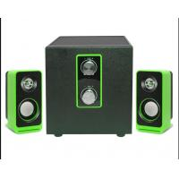 China Wooden Fashionable 2.1 Multimedia Speakers Active With Bass Control wholesale