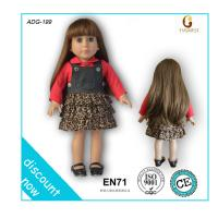 "China OEM online doll dress-up girl games, toy doll, 18"" american girl doll factory wholesale"
