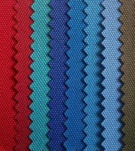 China Water retardant raincoat 300D polyester pu coated fabric wholesale