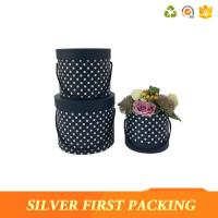 China Silver First  China luxury round flower packaging box wholesale rose boxes flower hat box for sale on sale