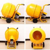 China Mobile Electrical Wheelbarrow-style Mini Cement Mixer with 120L Polydrum and Solid Frame wholesale