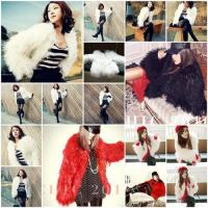 China Women's Sheepskin Coats Sheep Fur Coats Sheepskin Jackets Sheep Fur Jackets With 3 Colors 10Z wholesale