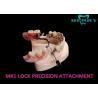China MK1 Custom Precision Attachment Dentures Excellent Retention Co-Cr Material wholesale