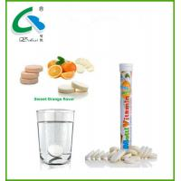 China high quality  effervescent multivitamin tablet with GMP certificates wholesale