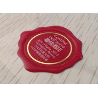 Transparent Epoxy Resin Stickers for Wine / Perfume Concave Bottles