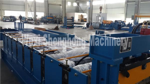 Quality Big Rib Galvanized Steel Cold Rolling Forming Machine to make Floor Support Plate for sale