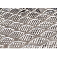 China Expanded 2mm Thickness SWD 36mm Aluminium Diamond Mesh For Outdoor Wall wholesale